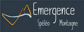 Logo Emergence spéléo titre